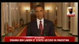 Bin Laden ucciso, il discorso integrale di Barack Obama