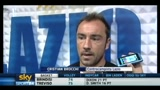 02/05/2011 - Lazio - Juventus, dichiarazioni di Brocchi