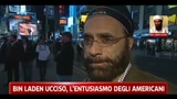 02/05/2011 - Bin Laden ucciso, l'entusiasmo degli americani