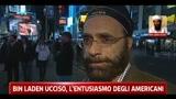 Bin Laden ucciso, l'entusiasmo degli americaniì