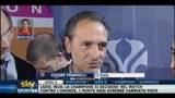 Totti, i complimenti di Prandelli