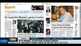 I giornali di mercoled 4 maggio 2011