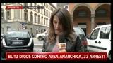 Blitz Digos contro area anarchica, 22 arresti