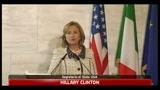 Clinton: forte amicizia tra Stati Uniti e Italia
