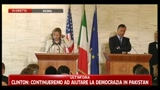05/05/2011 - Hillary Clinton: sono stati i 38 minuti pi intensi della mia vita