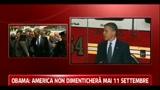Obama in visita ai vigili del fuoco: noi non dimenticheremo mai