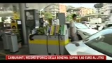 Carburanti, record storico della benzina