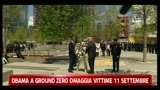 Obama a Ground Zero omaggia vittime 11 settembre