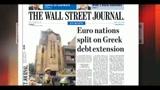 I giornali di lunedì 9 maggio 2011