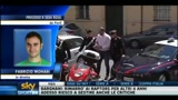 Sebastiano Rossi arrestato: il video dell'arrivo in caserma