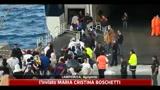 10/05/2011 - Lampedusa, vento e trasferimenti svuotano l'isola