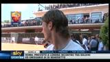 Totti agli allenamenti di Federer: magari fossi come lui