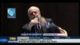 11/05/2011 - De Laurentis: sono un tifoso dell'onestà intellettuale