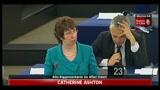 Strasburgo, Ashton: UE vuole aprire ufficio a Bengasi