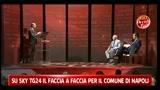 Faccia faccia Napoli, Morcone si rivolge alla sedia vuota di Lettieri