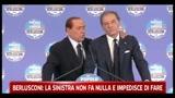 Berlusconi, la sinistra non fa nulla ed impedisce di fare