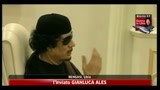 14/05/2011 - Libia, Gheddafi: le bombe della Nato non possono colpirmi