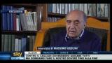 14/05/2011 - Napoli, l'ex presidente Ferlaino: De Laurentiis fa molto spettacolo