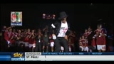 15/05/2011 - Milan, Boateng regala un moonwalk ai tifosi