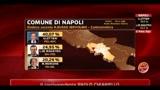 Amministrative 2011, prime dichiarazioni di Gianni Lettieri (ore 19.30)