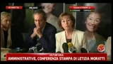 Amministrative 2011, prime dichiarazioni di Letizia Moratti