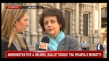 17/05/2011 - Milly Moratti, candidata lista civica per Pisapia
