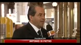 Antonio Di Pietro: alternativa  Idv-Pd-Sel, aperti a moderati
