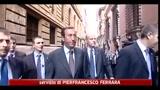 Amministrative, Casini: oggi terzo polo decide sui ballottaggi