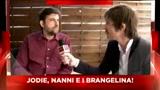 18/05/2011 - cannes 2011 francesco castelnuovo incontra Nanni Moretti