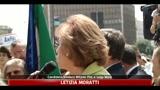 19/05/2011 - Moratti contestata al presidio dei disabili
