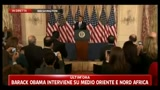 Barack Obama interviene su Medio Oriente e Nord Africa