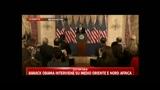 Intervento di Barack Obama su Medio Oriente