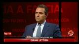 Faccia a Faccia De Magistris - Lettieri: scontro su compensi