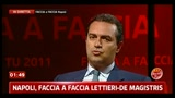 Faccia a Faccia De Magistris: Non mi accompagno a Cosentino