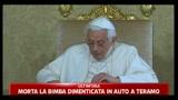Papa dialoga con gli astronauti della stazione spaziale