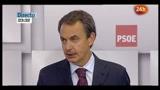 Elezioni Spagna, batosta per i socialisti, Zapatero ammette sconfitta
