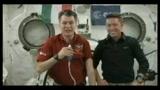 23/05/2011 - Napolitano parla agli astronauti della Iss