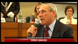 Giustizia, Grasso: come dialogare con chi ti prende a schiaffi?