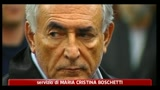 24/05/2011 - Strauss-Kahn, tv: tracce del suo dna su vestiti della cameriera