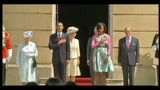 24/05/2011 - Obama a Londra, incontro con la regina a Buckingham Palace