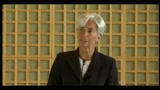 25/05/2011 - Christine Lagarde si  candidata alla guida del FMI