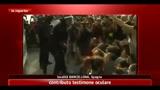 27/05/2011 - Barcellona, manifestanti sfollati a colpi di manganello