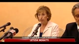 27/05/2011 - Milano, Moratti: Castelli sar il mio vicesindaco