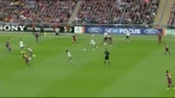 Barcellona - Manchester United, gol di Rooney (34')