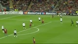 Barcellona - Manchester United, gol di Villa (69')