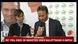30/05/2011 - Amministrative 2011, Napoli: parla Marzia Bonucci, portavoce di De Magistris (ore 16)