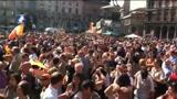 30/05/2011 - Giuliano Pisapia è il nuovo sindaco. Festa in piazza Duomo