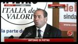 30/05/2011 - Amministrative 2011, Napoli, Di Pietro: ripulire la città dalla monnezza fisica e morale