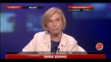 Amministrative 2011, Napoli: parla Emma Bonino