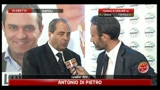 Amministrative 2011, Napoli Di Pietro: ci abbiamo creduto fin dal primo momento